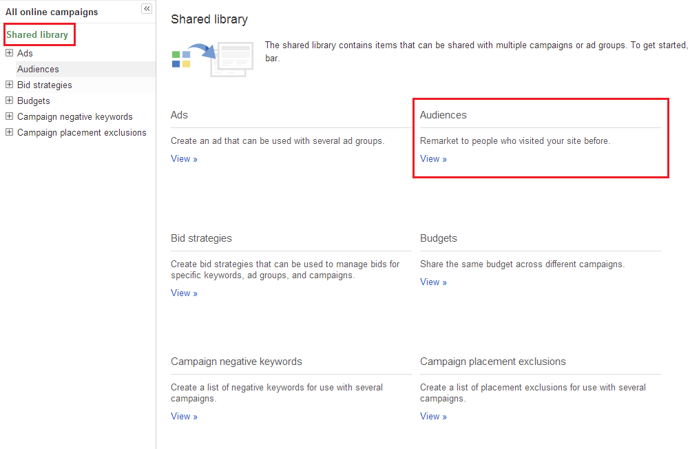 Google Adwords shared library