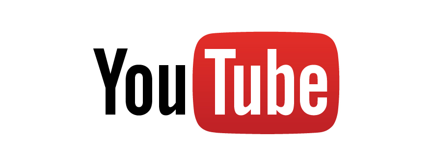 Youtube logo banner