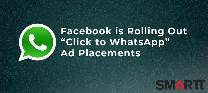 whatsapp announcement - facebook ad placements