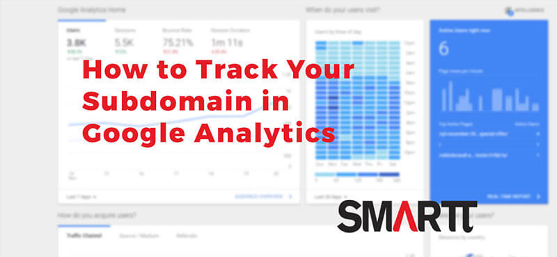 how to track subdomain in google analytics
